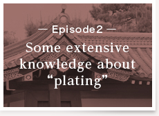 """Episode2:Some extensive knowledge about """"plating"""""""
