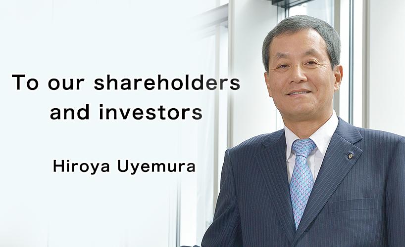 President Hiroya Uyemura